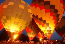 Kentucky Derby Great Balloon Glow