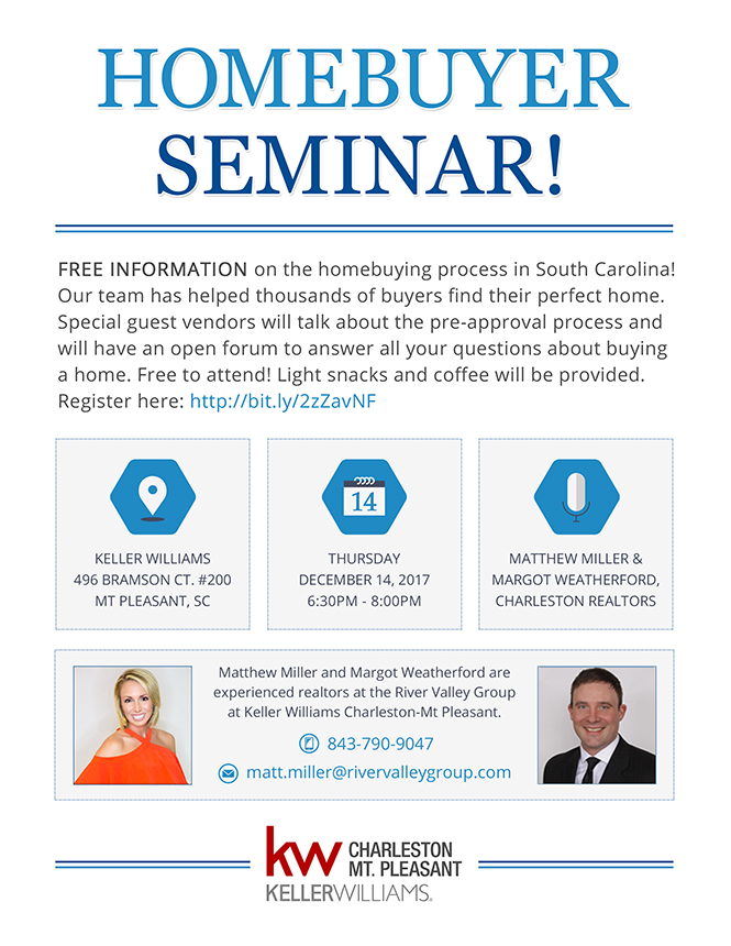 Charleston Homebuying Seminar